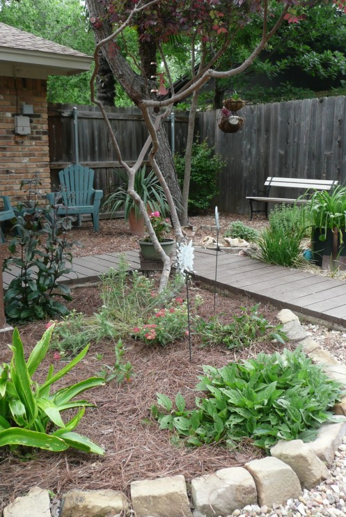 Partial view of the Butterfly Garden.